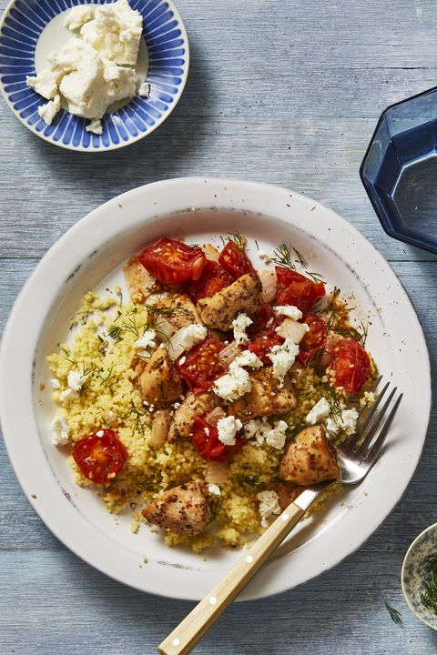 tomato recipes  mediterranean chicken bowls