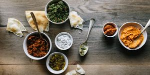 Mediterranean Dips and Spreads
