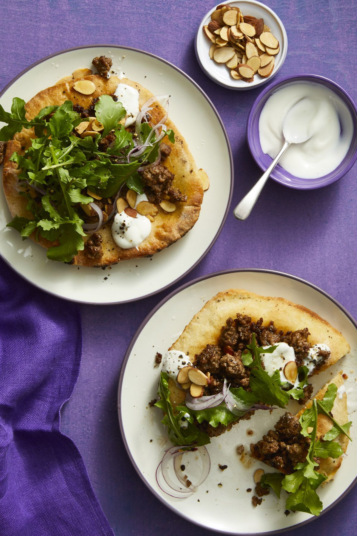 Mediterranean Pita Pizzas 30-Minute Meal