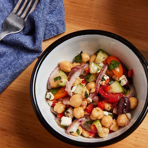 Dish, Food, Cuisine, Ingredient, Vegetable, Salad, Vegetarian food, Chickpea, Produce, Legume,