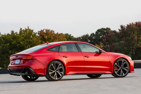 audi rs 7 red 2021 rs7