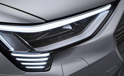audi e tron sportback digital matrix led headlight