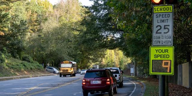 audi c v2x school zone and school bus