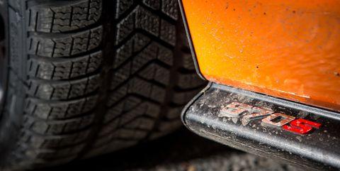 McLaren winter tires