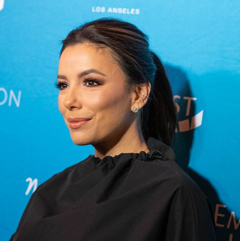 medium length celebrity hairstyles eva longoria