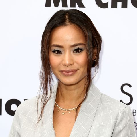 medium length celebrity hairstyles jamie chung