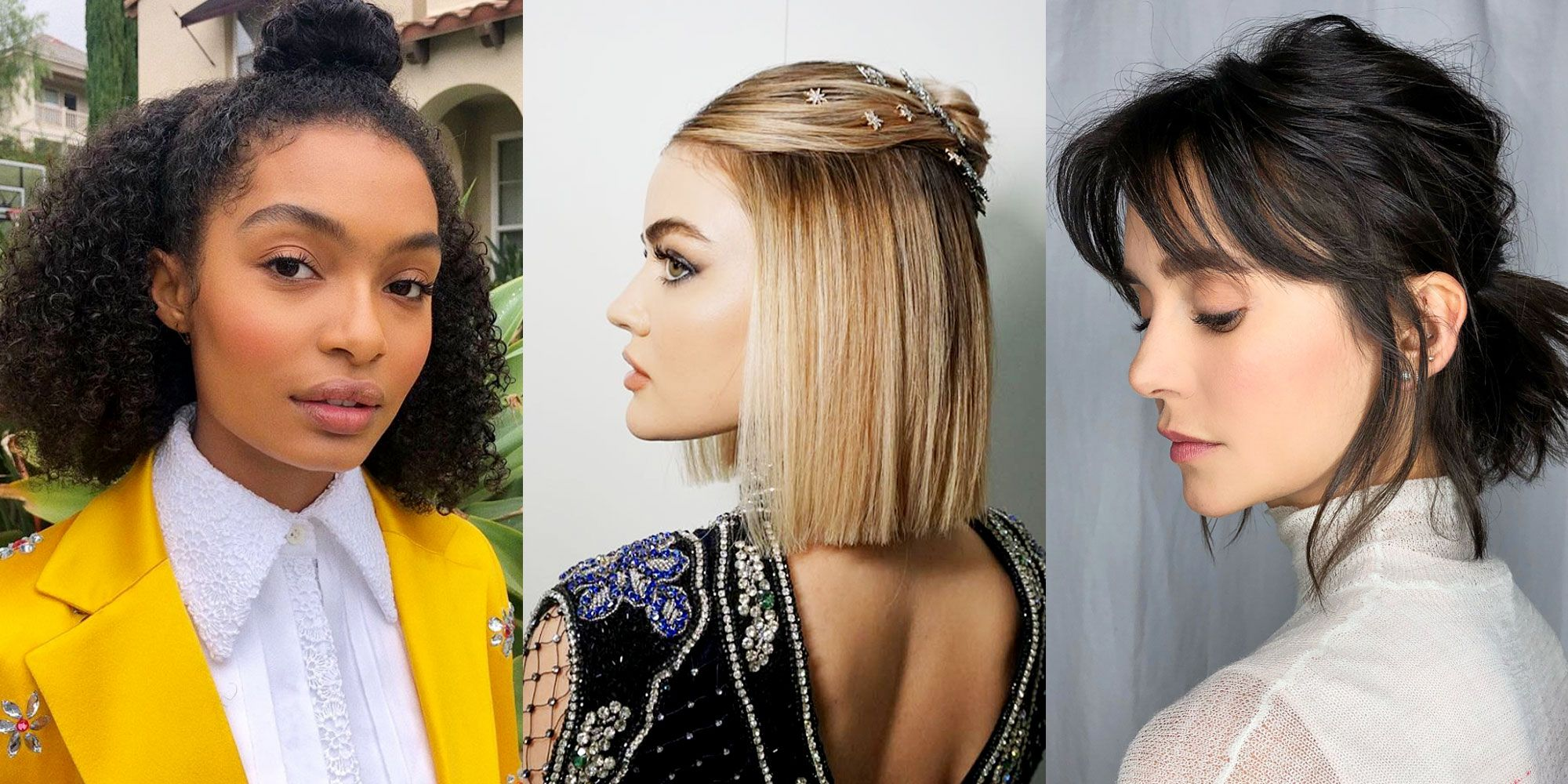 Easy Medium Hairstyles , How to Style Mid,Length and