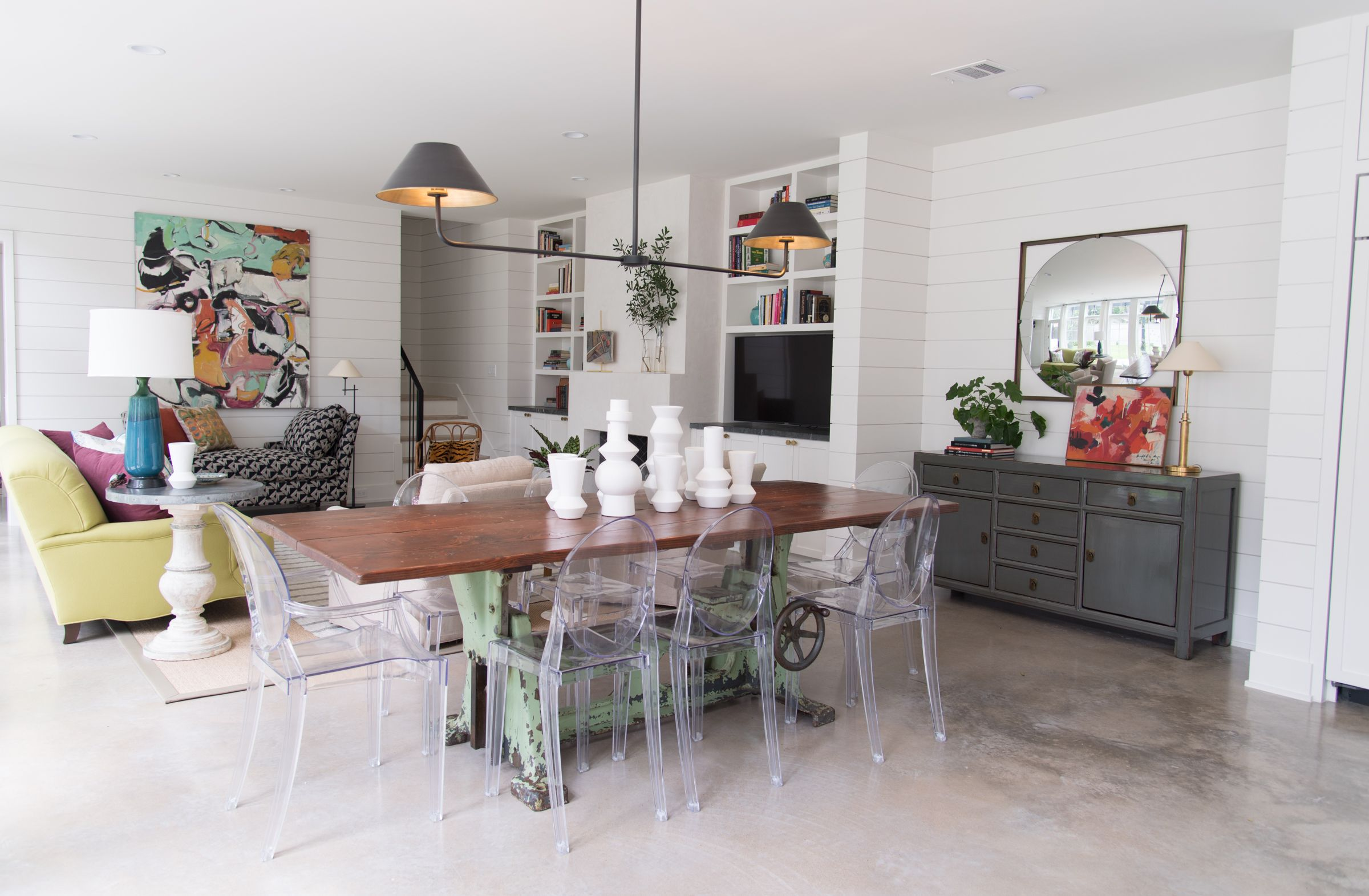 22 Ideas For Styling Acrylic Dining Chairs Acrylic Dining Chair Ideas