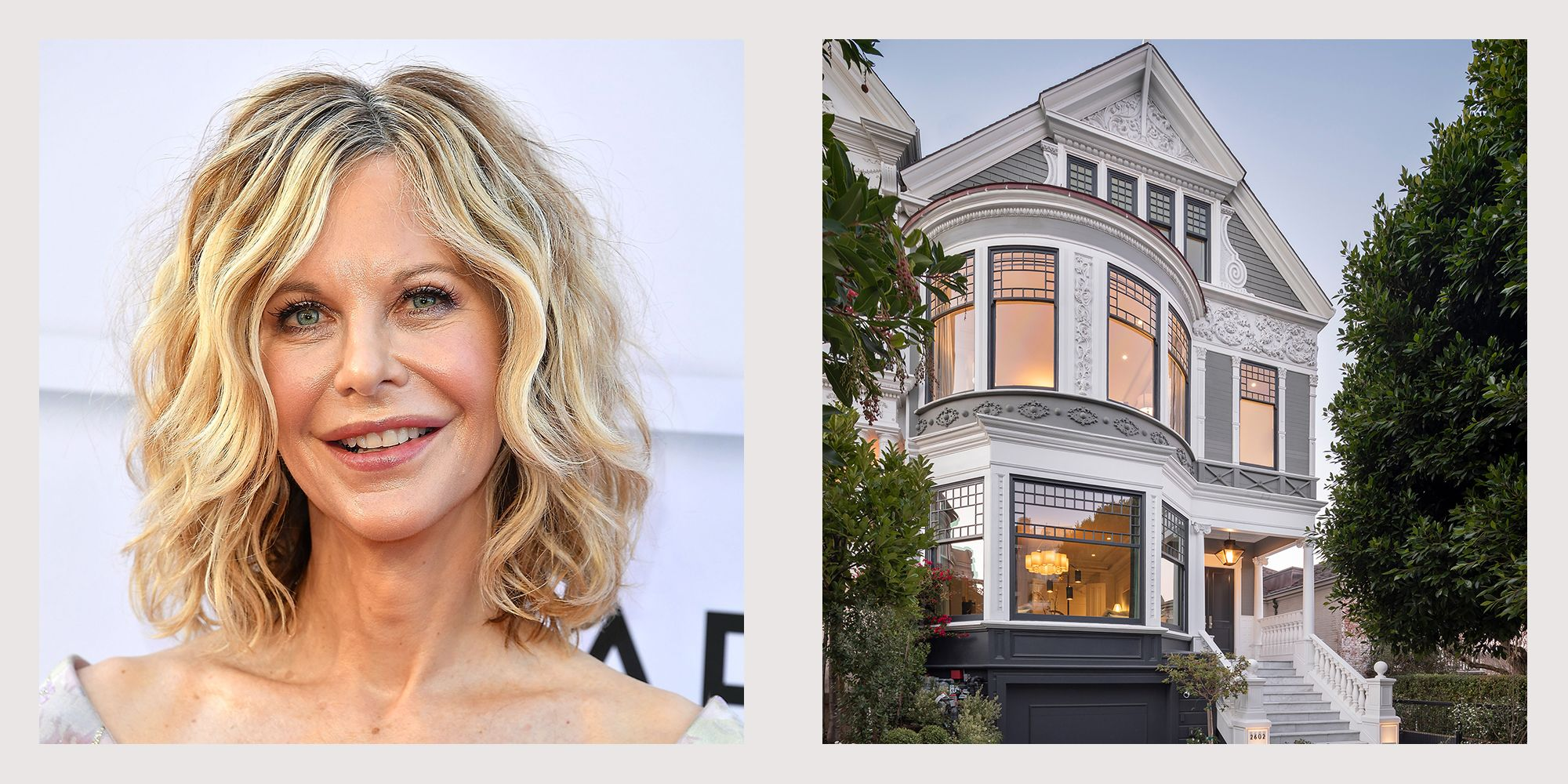 Meg Ryan's Former San Francisco Home is Listed for $19.95 Million