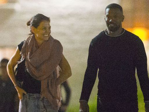 *PREMIUM EXCLUSIVE* Loved-up Katie Holmes and Jamie Foxx enjoy a romantic date night in New Orleans