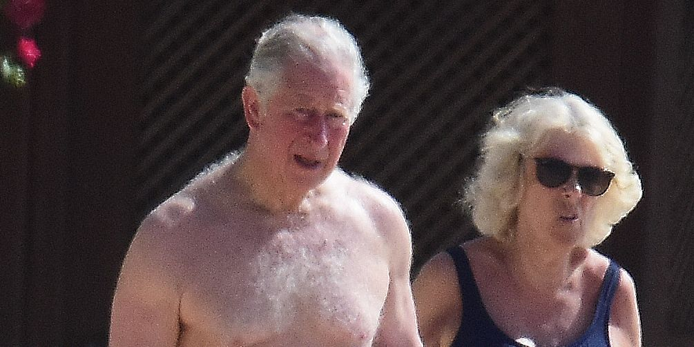 Prince Charles Is Shirtless Has A Cracking Bod Photos