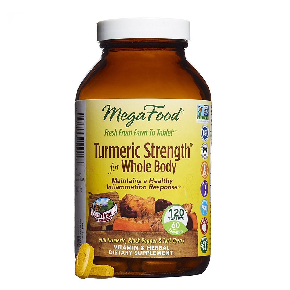 MegaFood Turmeric Strength for Whole Body Dietary Supplement