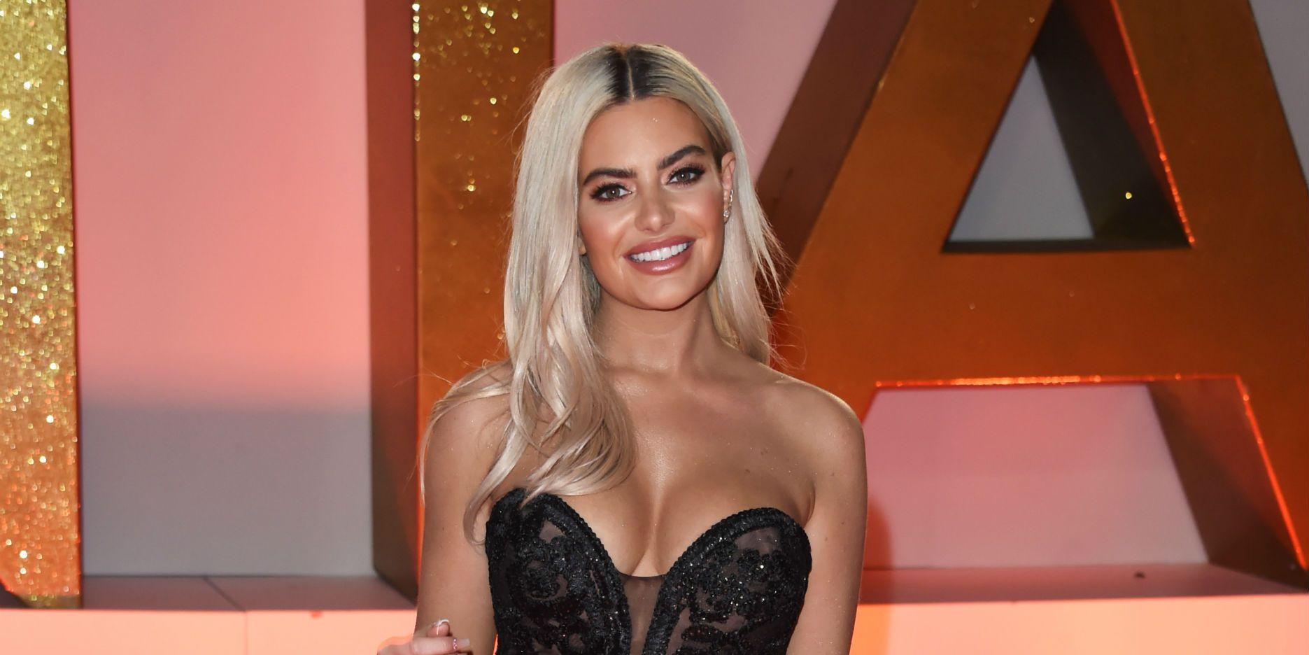 Megan Barton Hanson at National Television Awards in January 2019
