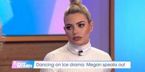 Megan-Barton Hanson talks Dancing on Iceon Loose Women, January 2019