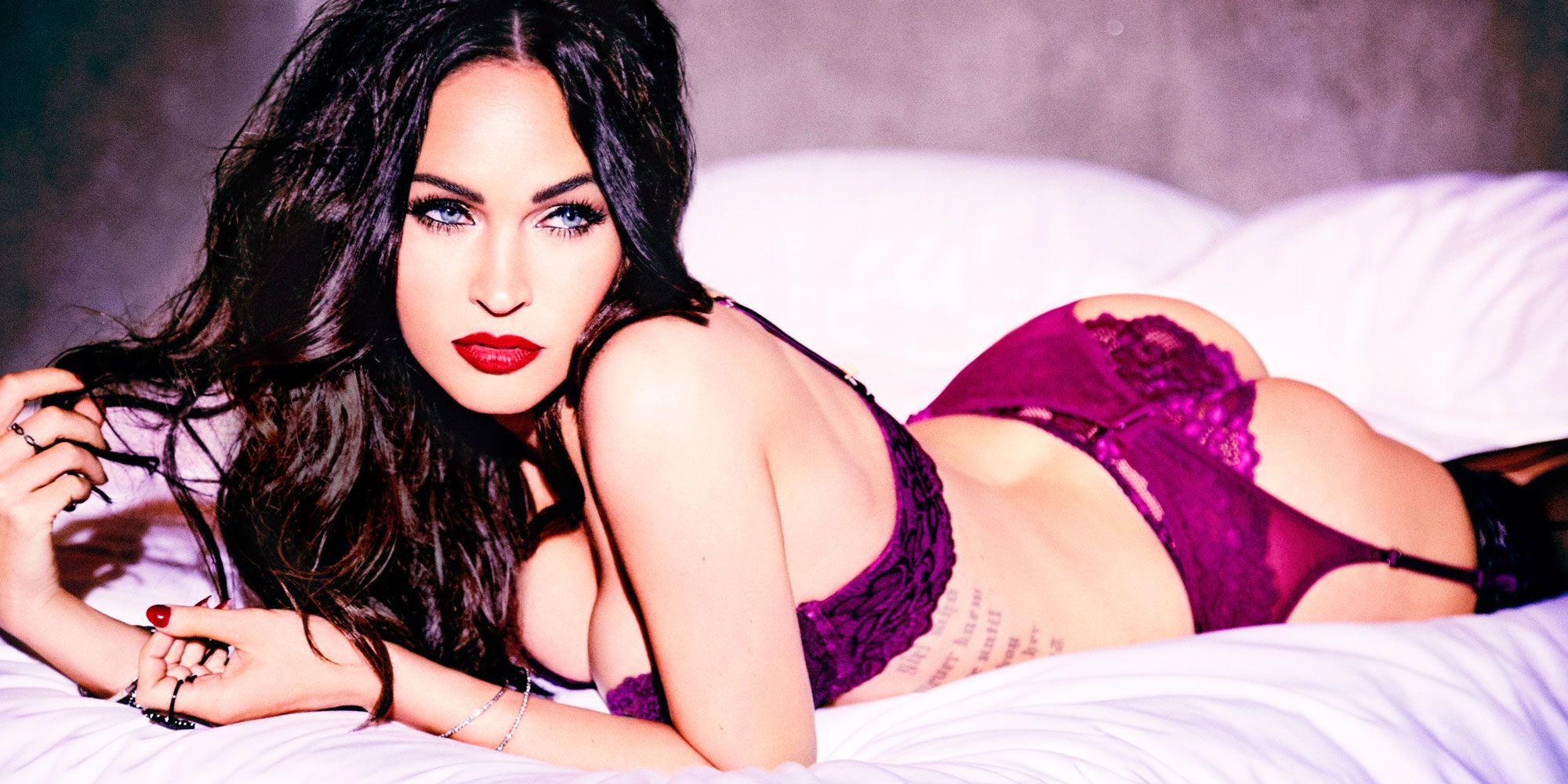 Megan Fox s Frederick s of Hollywood Line - Megan Fox Lingerie Interview d28cbbe61