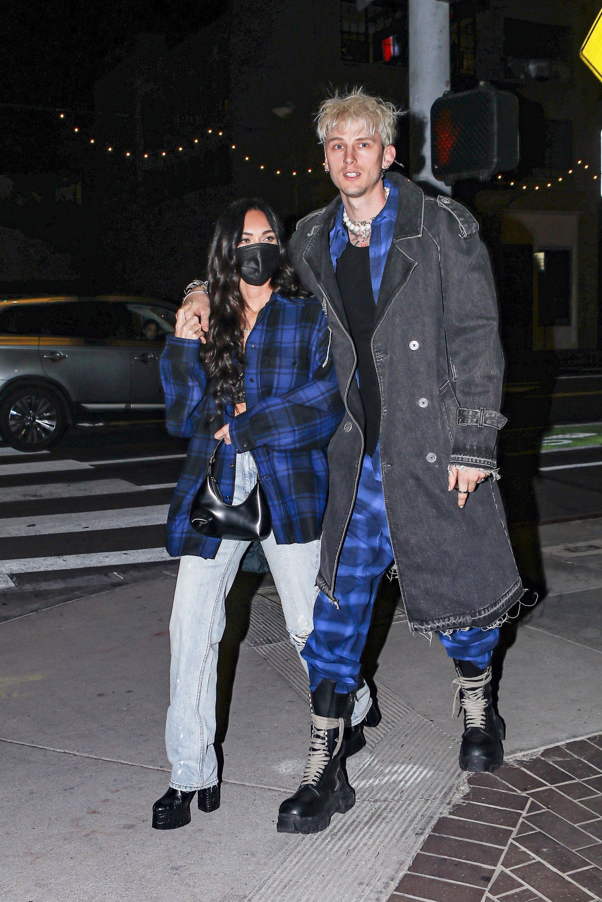 Megan Fox and Machine Gun Kelly Are Now Wearing Matching Outfits on Dates