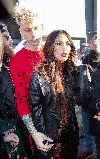 celebrity sightings in new york city   january 30, 2021