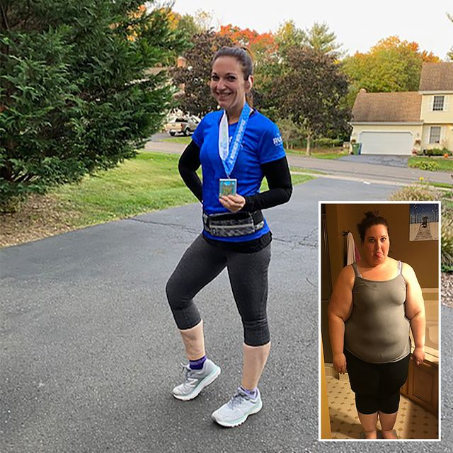 megan marie running weight loss