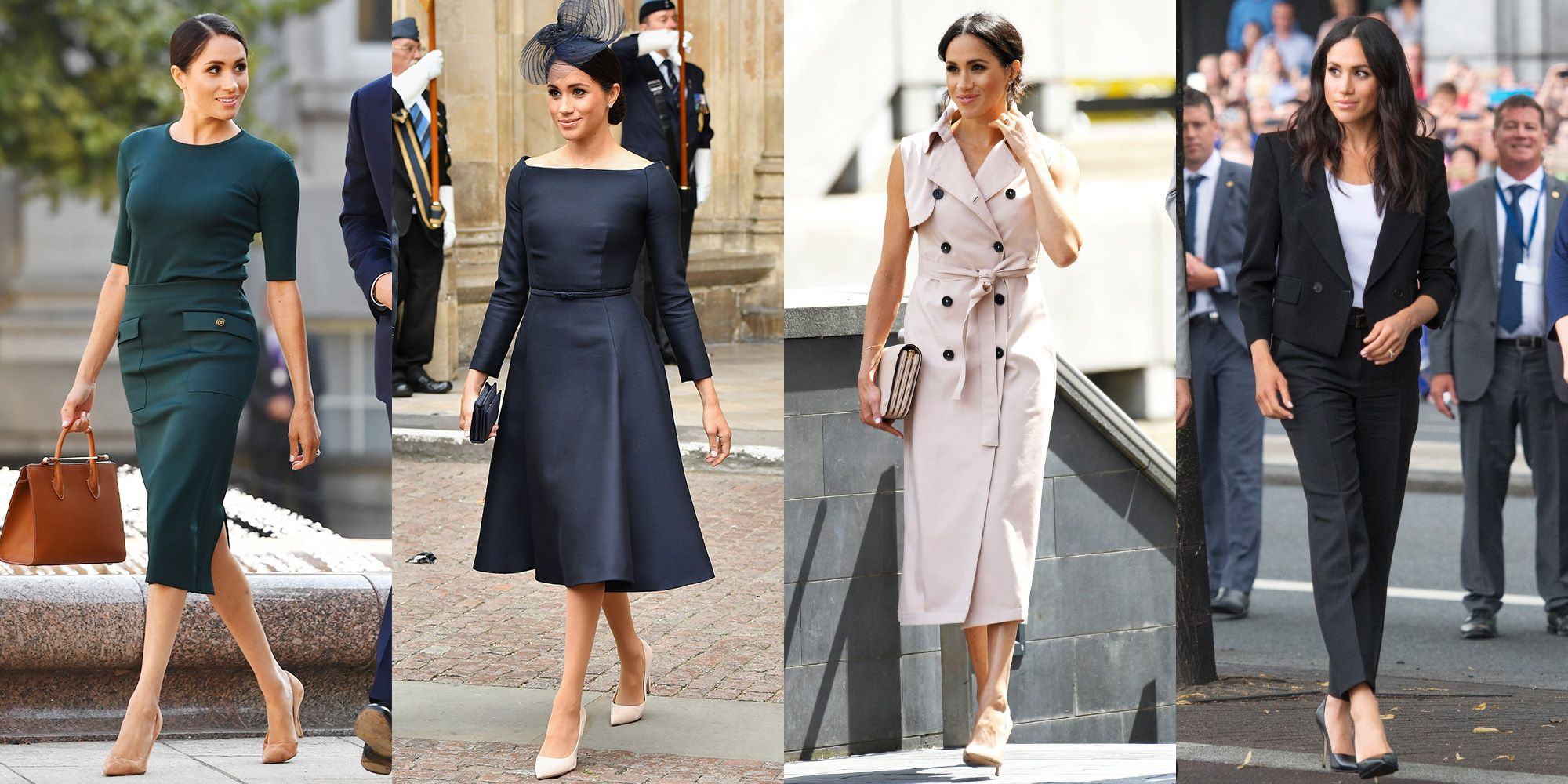 Everything Meghan Markle Has Worn Since The Royal Wedding Meghan