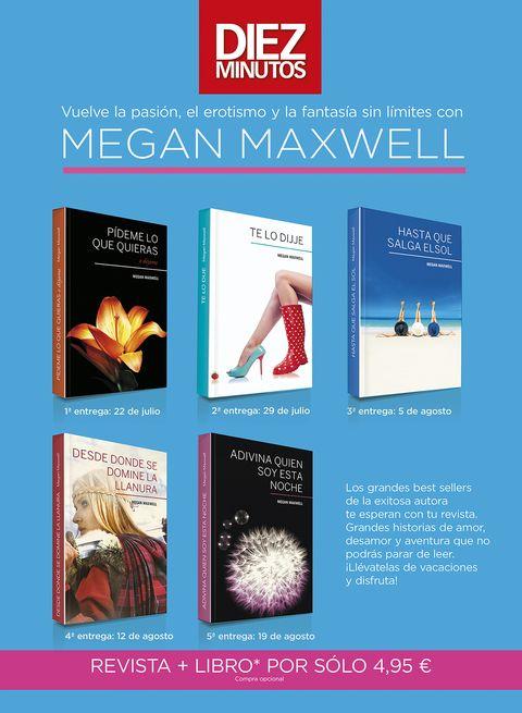 Megan Maxwell Sus Novelas Más Apasionadas