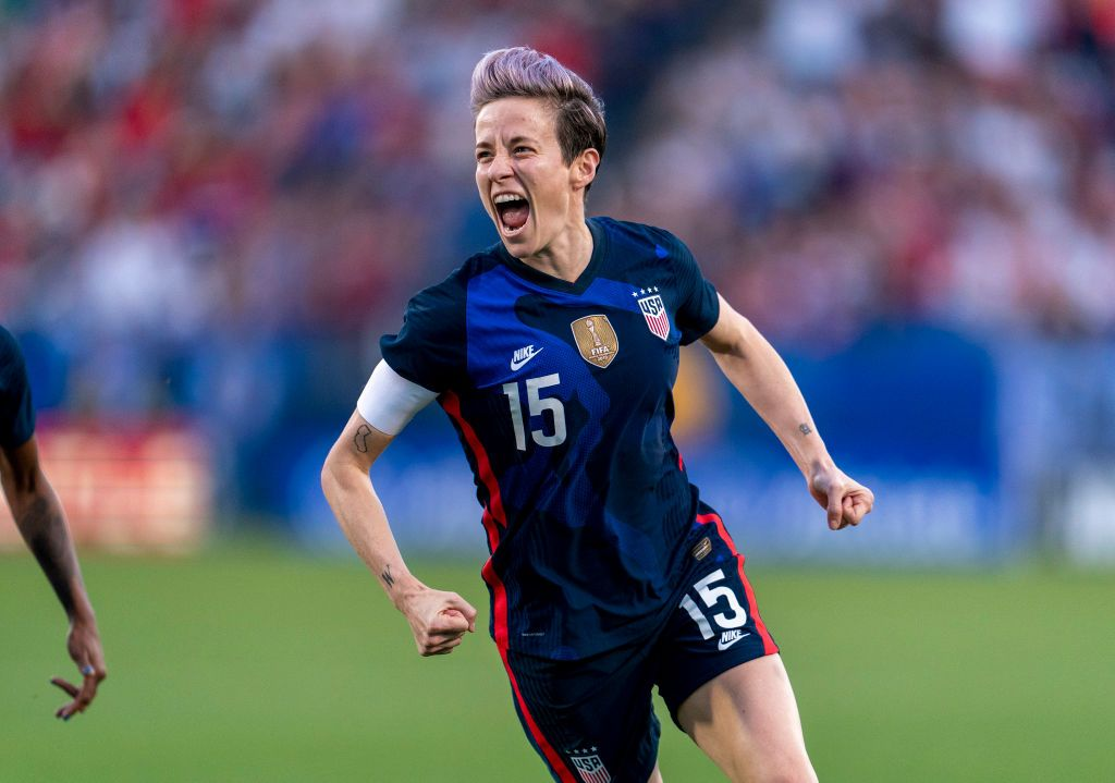 Soccer Star Megan Rapinoe On 2020 Olympics Delay, Staying Healthy While Social Distancing, And 'Prodigy' Premiere
