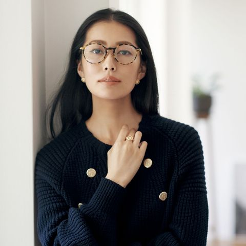 アルマーニのメガネ