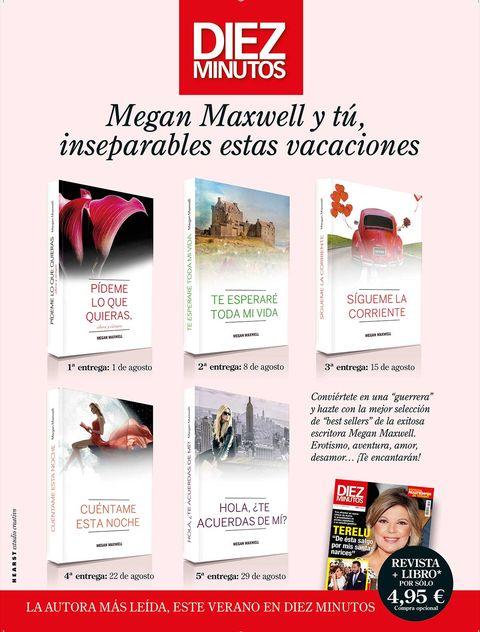 Megan Maxwell Libros Diez Minutos