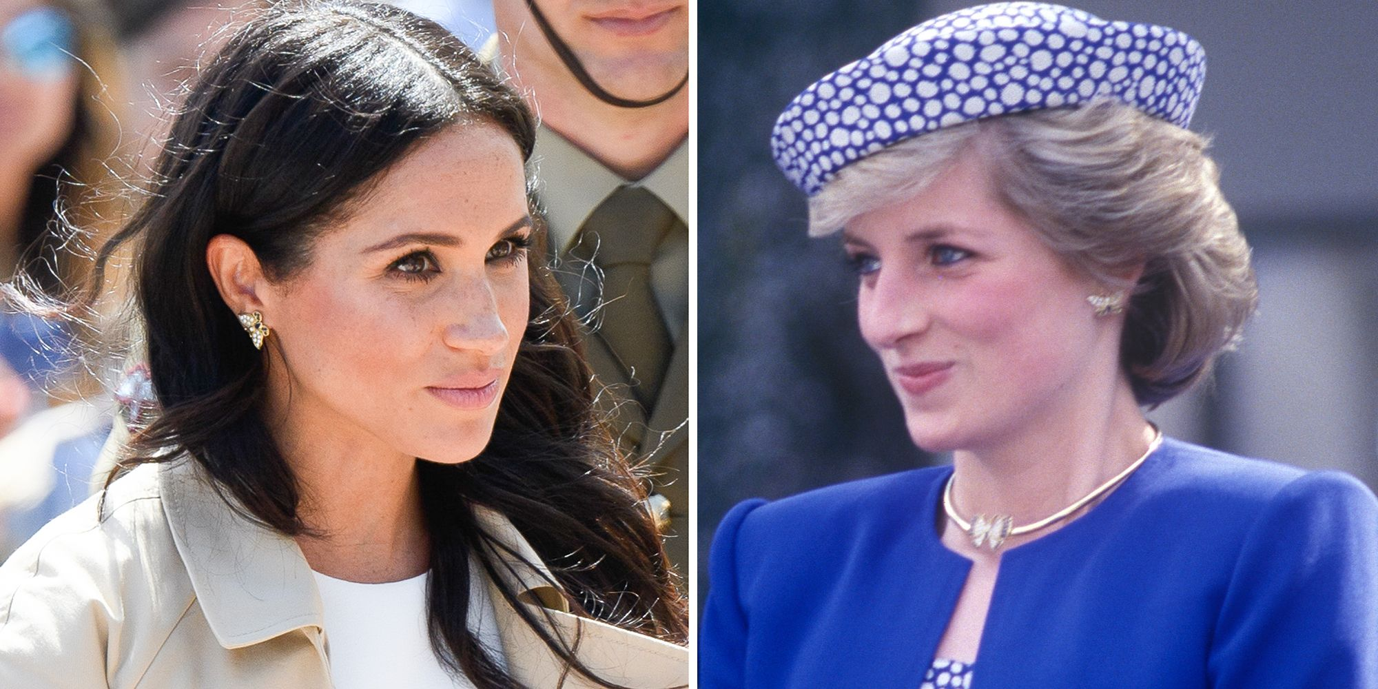Meghan Markle royal tour Princess Diana
