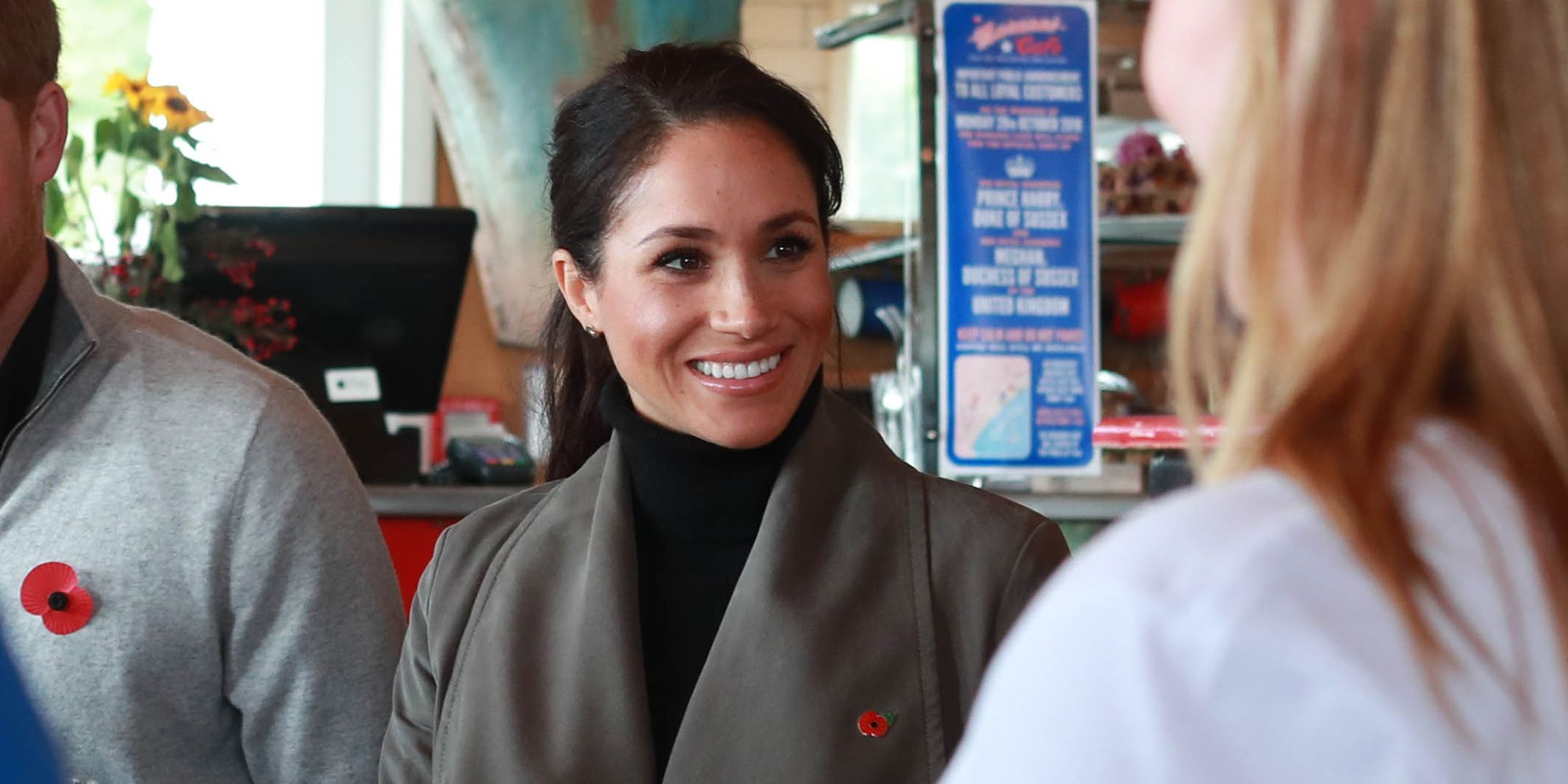 meghan markle in nieuw-zeeland Marenui Cafe over social media