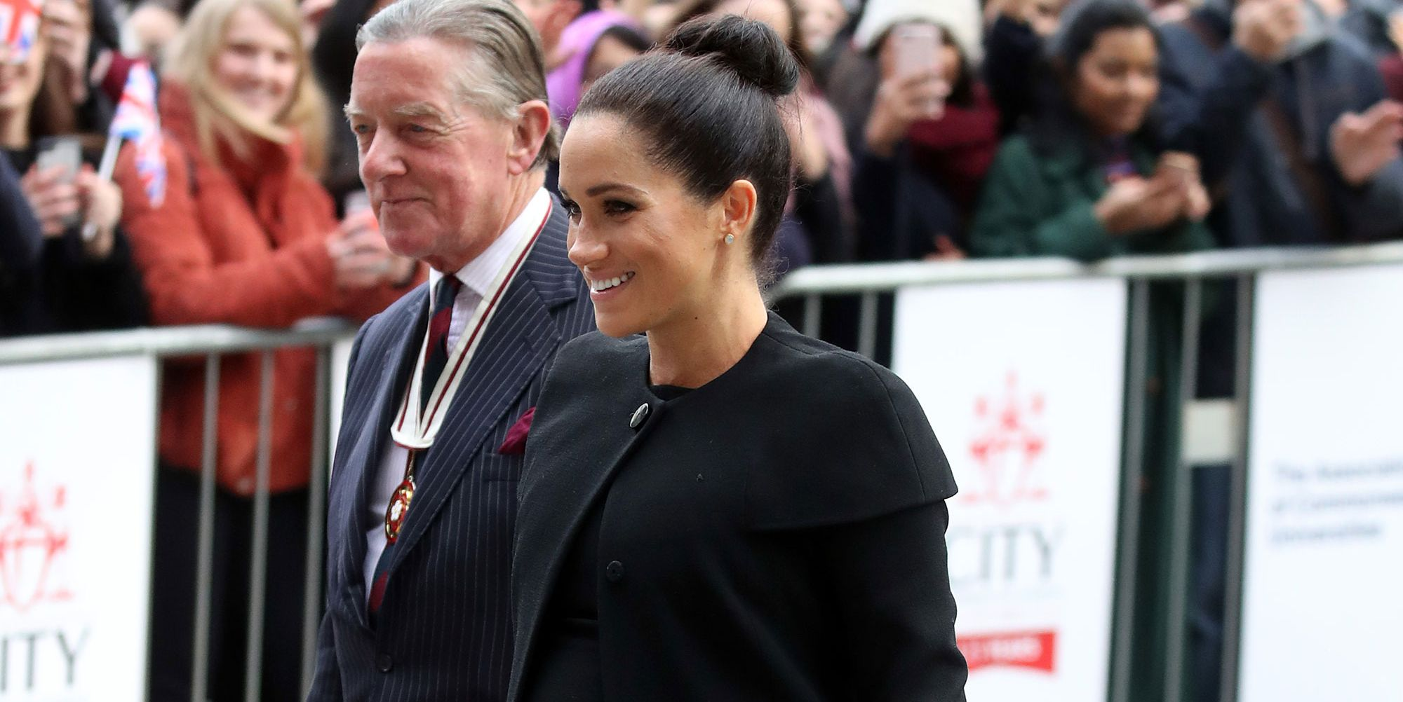 Meghan in Givenchy