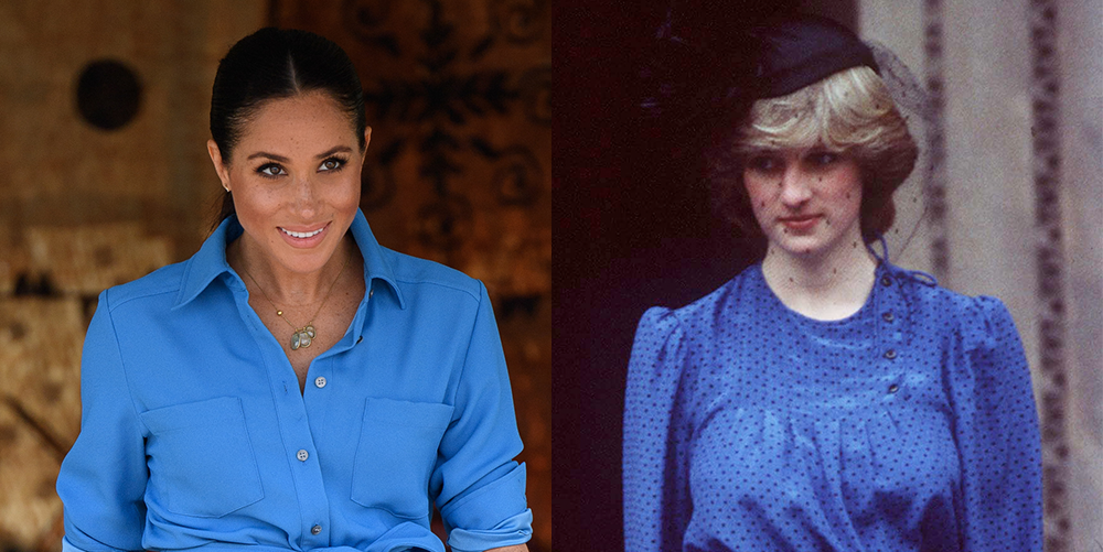 8 Times Meghan Markle Channeled Princess Diana's Maternity Style