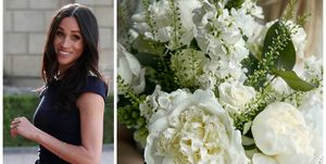Meghan Markle / Bloom & Wild bouquet
