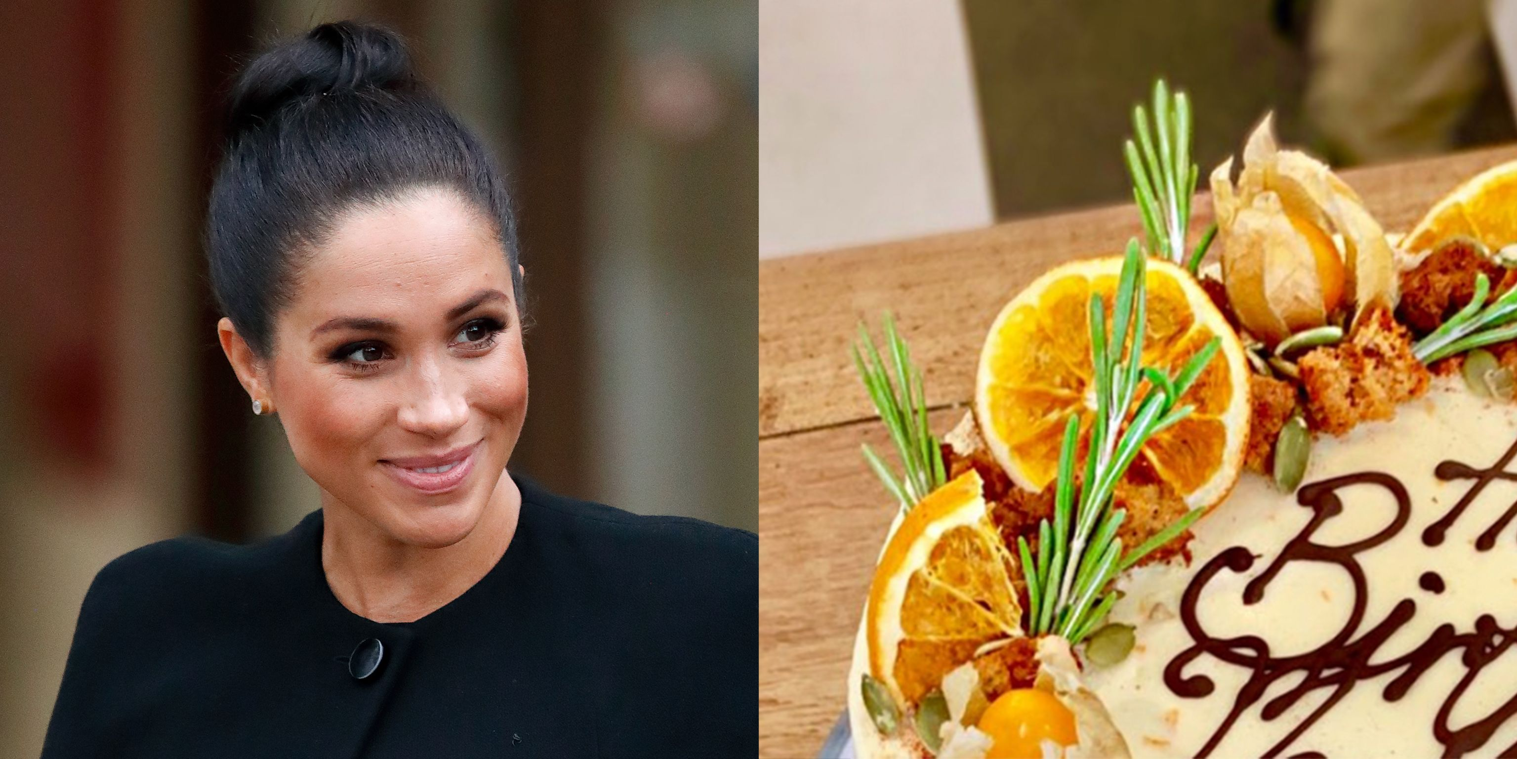 Meghan Markle's Carrot Birthday Cake Comes From A Bakery That Trains Women In Need