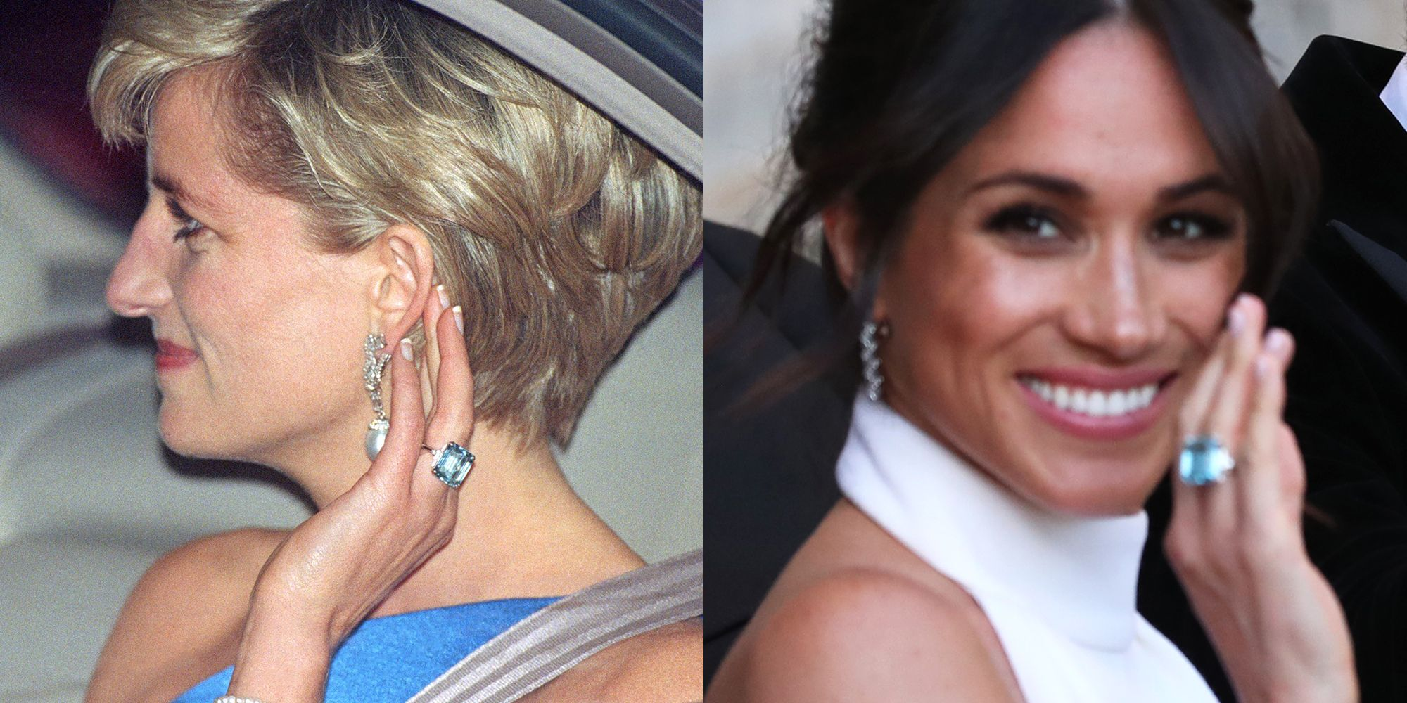every time meghan markle has worn princess diana s royal jewels meghan markle has worn princess