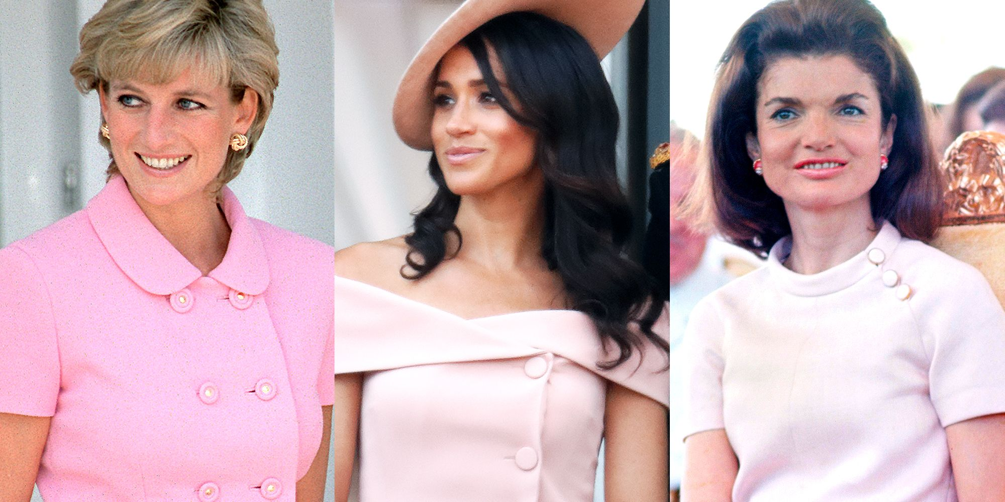 Their influence can clearly be seen in some of Meghan's looks as she defines her own style as a duchess.