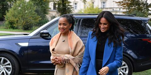 Meghan Markle's mum Doria Ragland joined her at her cookbook launch