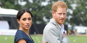 Meghan Markle and Prince Harry at Sentebale Polo 2018