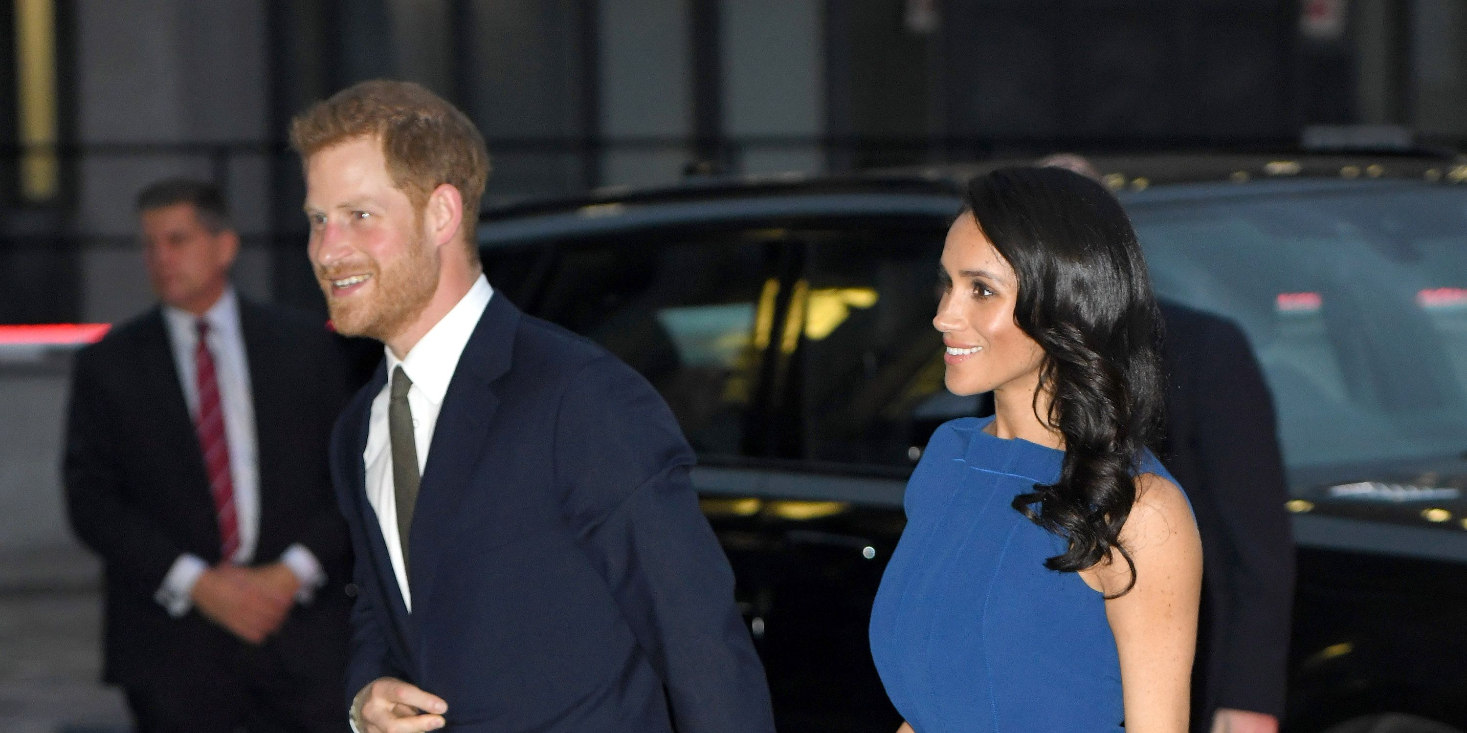 The Duke & Duchess Of Sussex Attend '100 Days To Peace' Commemorative Concert