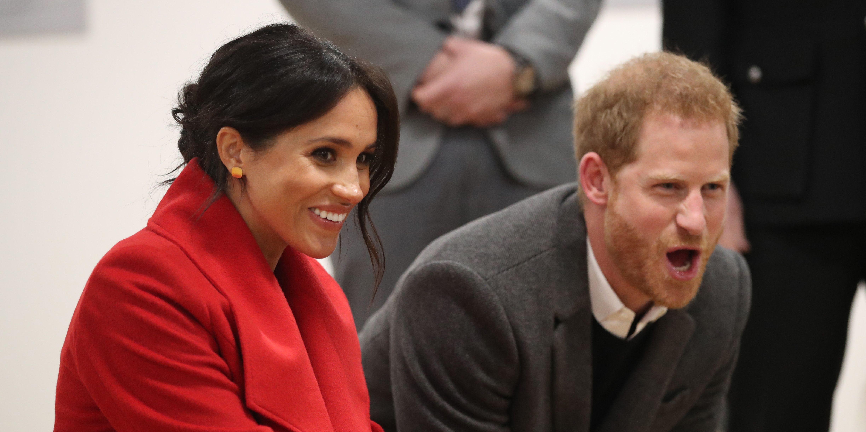 The Duke And Duchess Of Sussex Visit Birkenhead