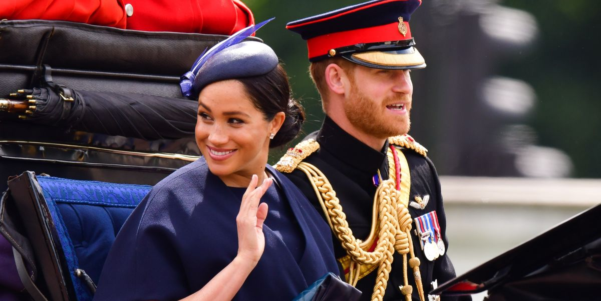 """""""Meghan is radiant, taking each day one day at a time."""""""