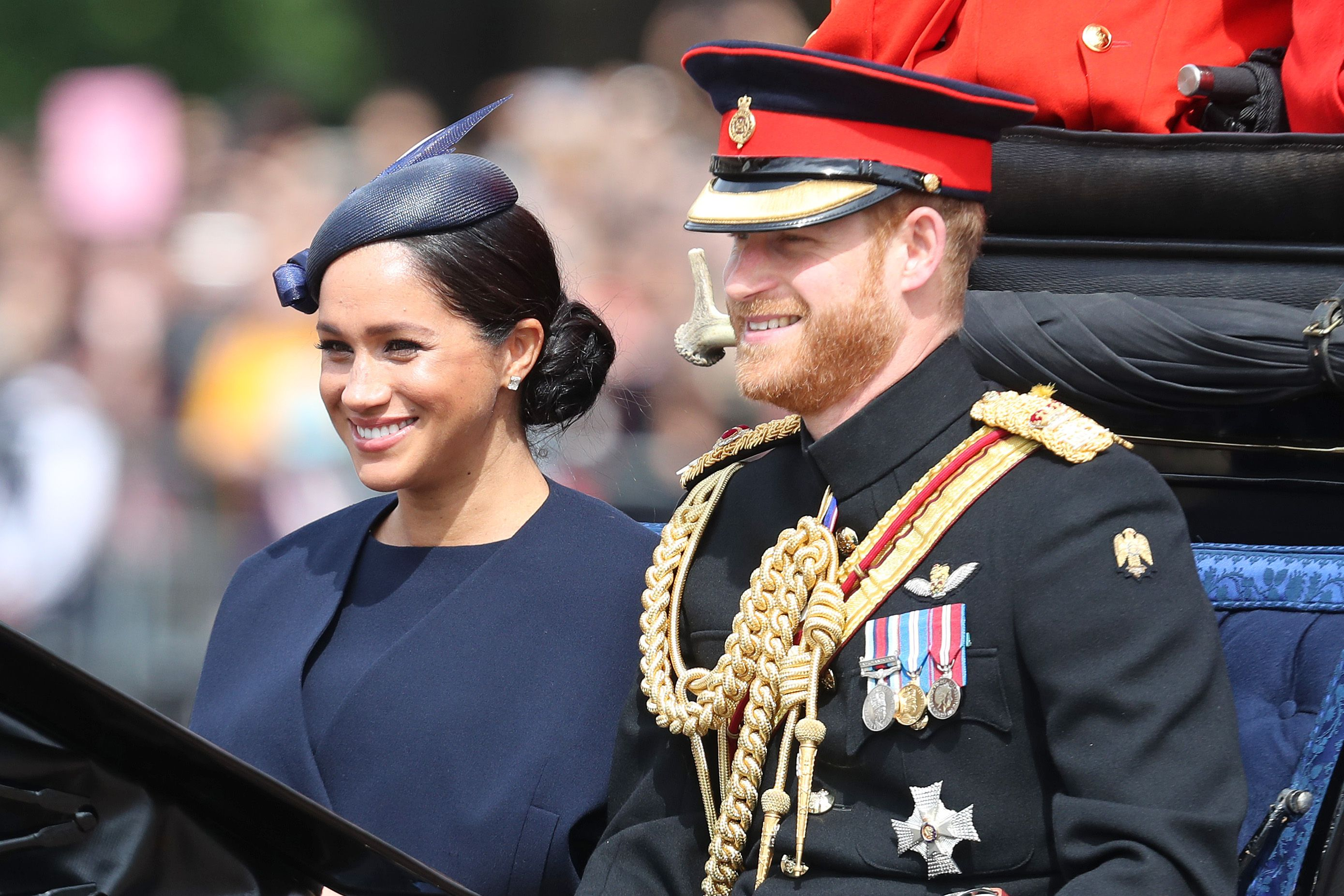 Why Meghan Markle's Royal Baby Archie Didn't Attend Trooping