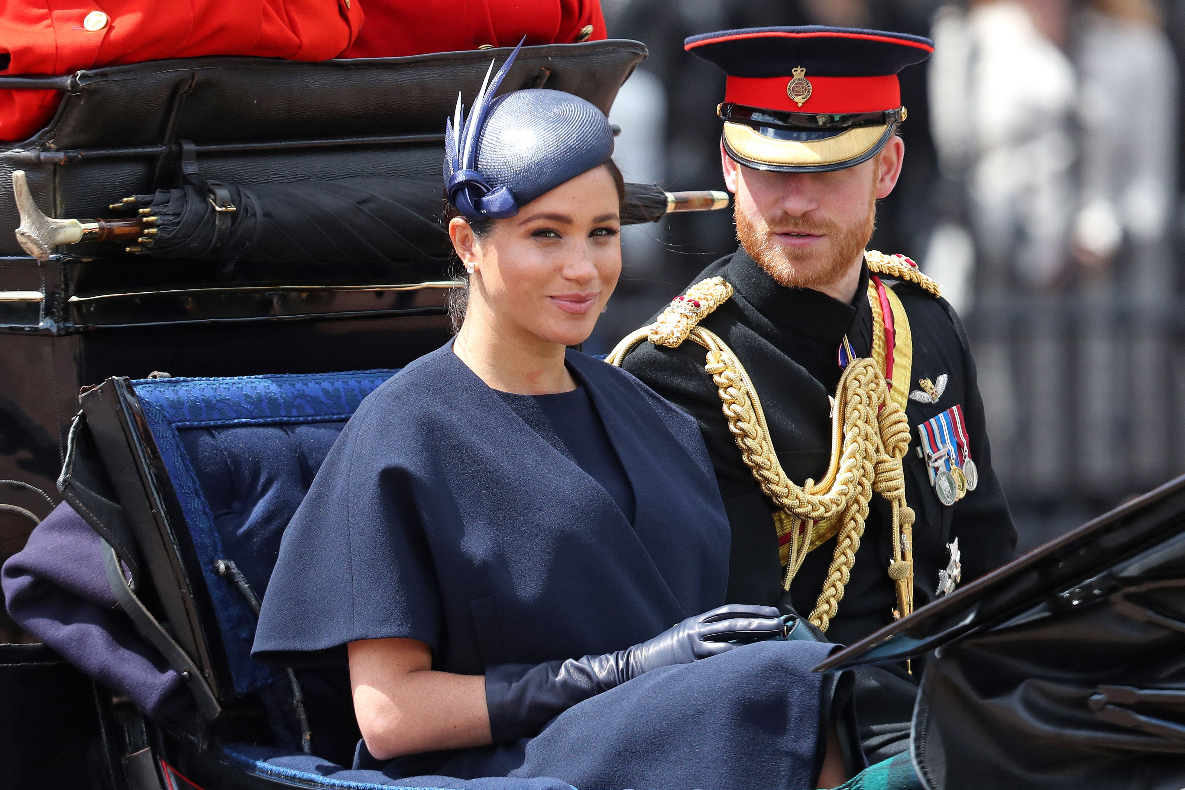 What Meghan Markle's New Diamond Band on Her Ring Finger Means