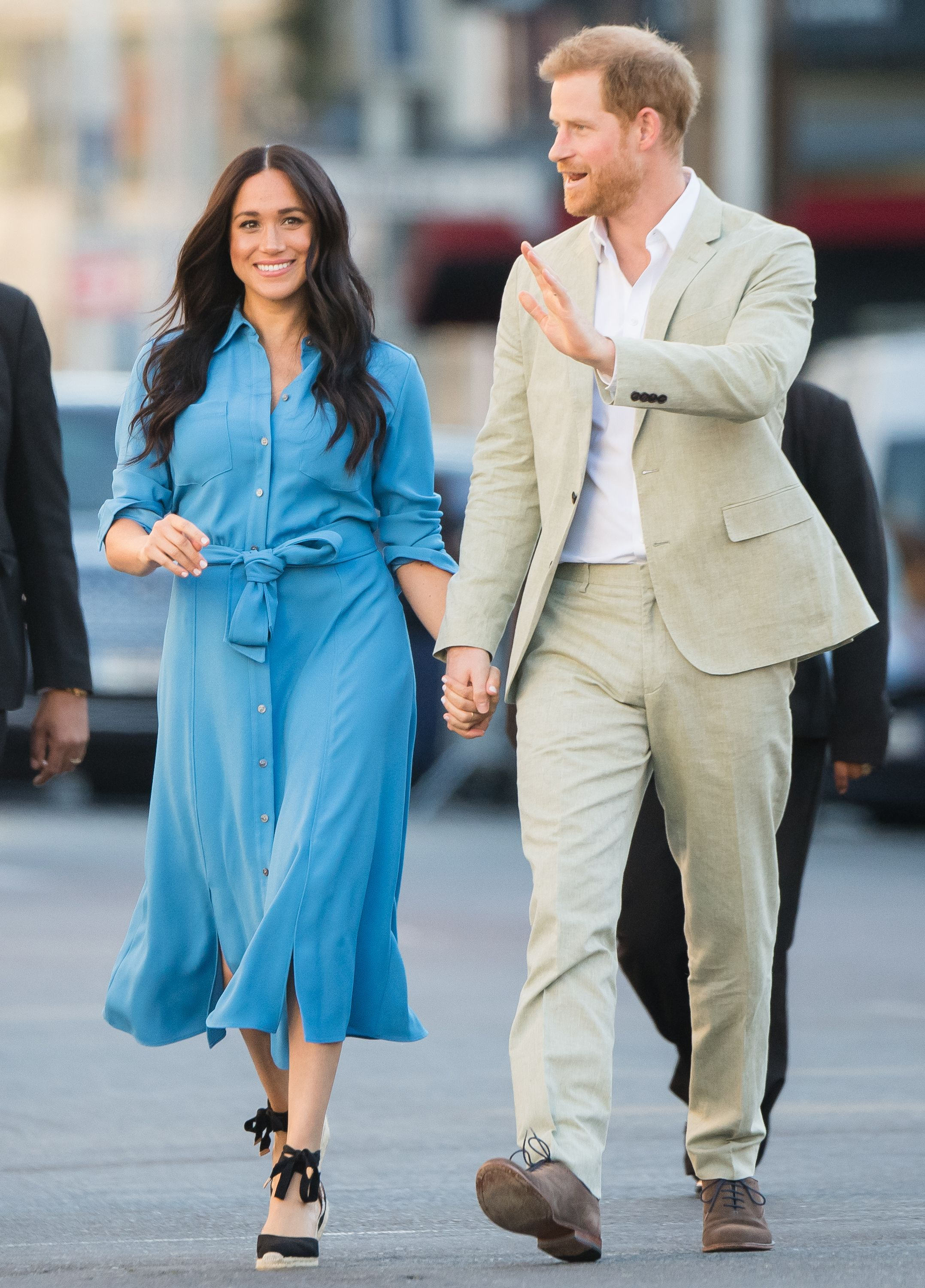 Why Archie Wasn't at Meghan Markle and Prince Harry's Events on Their First Day of the Royal Tour