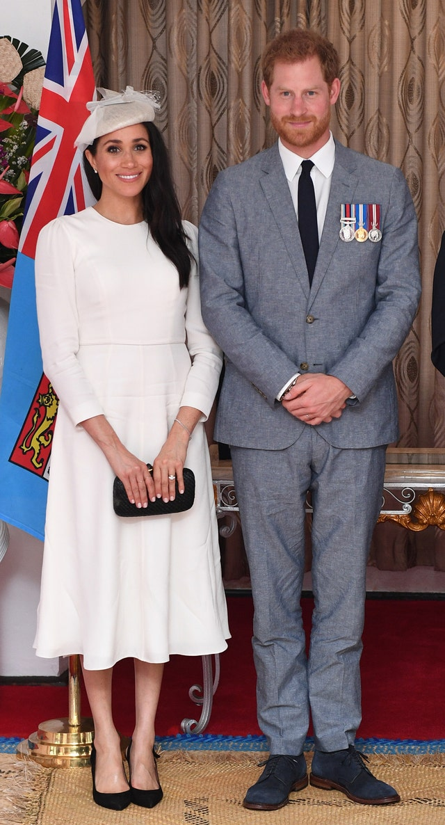 the duke and duchess of sussex visit fiji   day 1