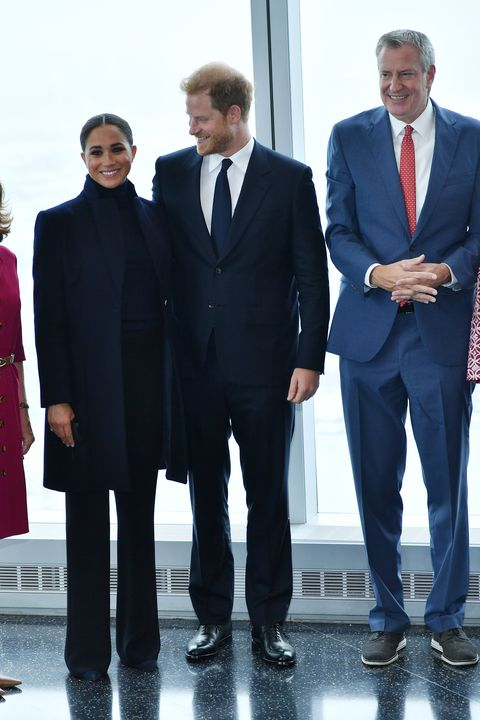 Go on a world observation with the Duke and Duchess of Sussex NYC Mayor Bill de Blasio