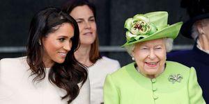 メーガン妃とエリザベス女王