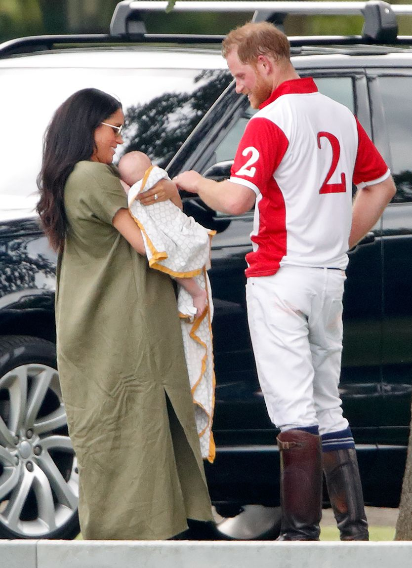 Yup, Archie Has Red Hair Just Like His Dad, Prince Harry