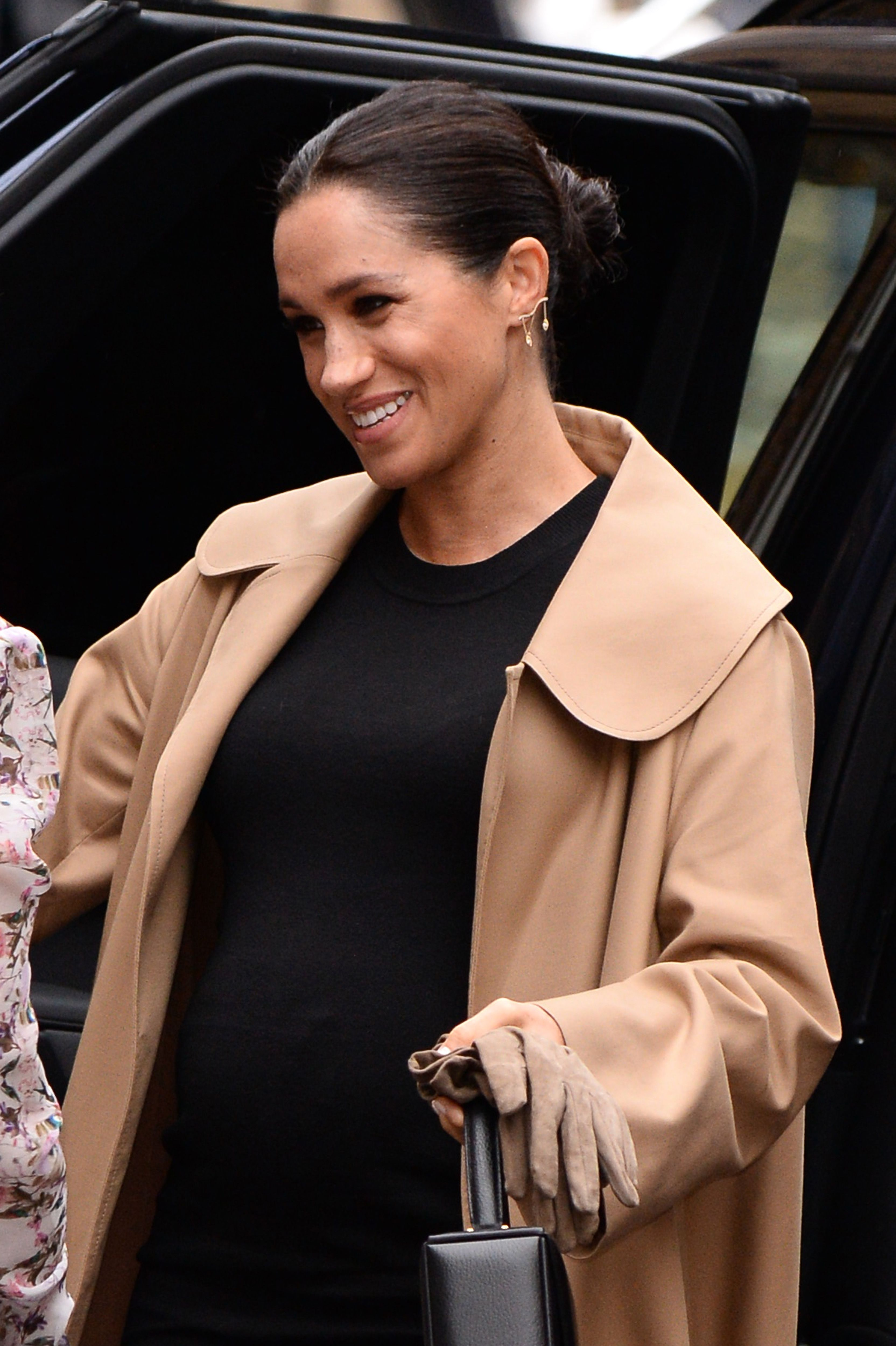 The duchess looked incredible as she arrived at the charity.