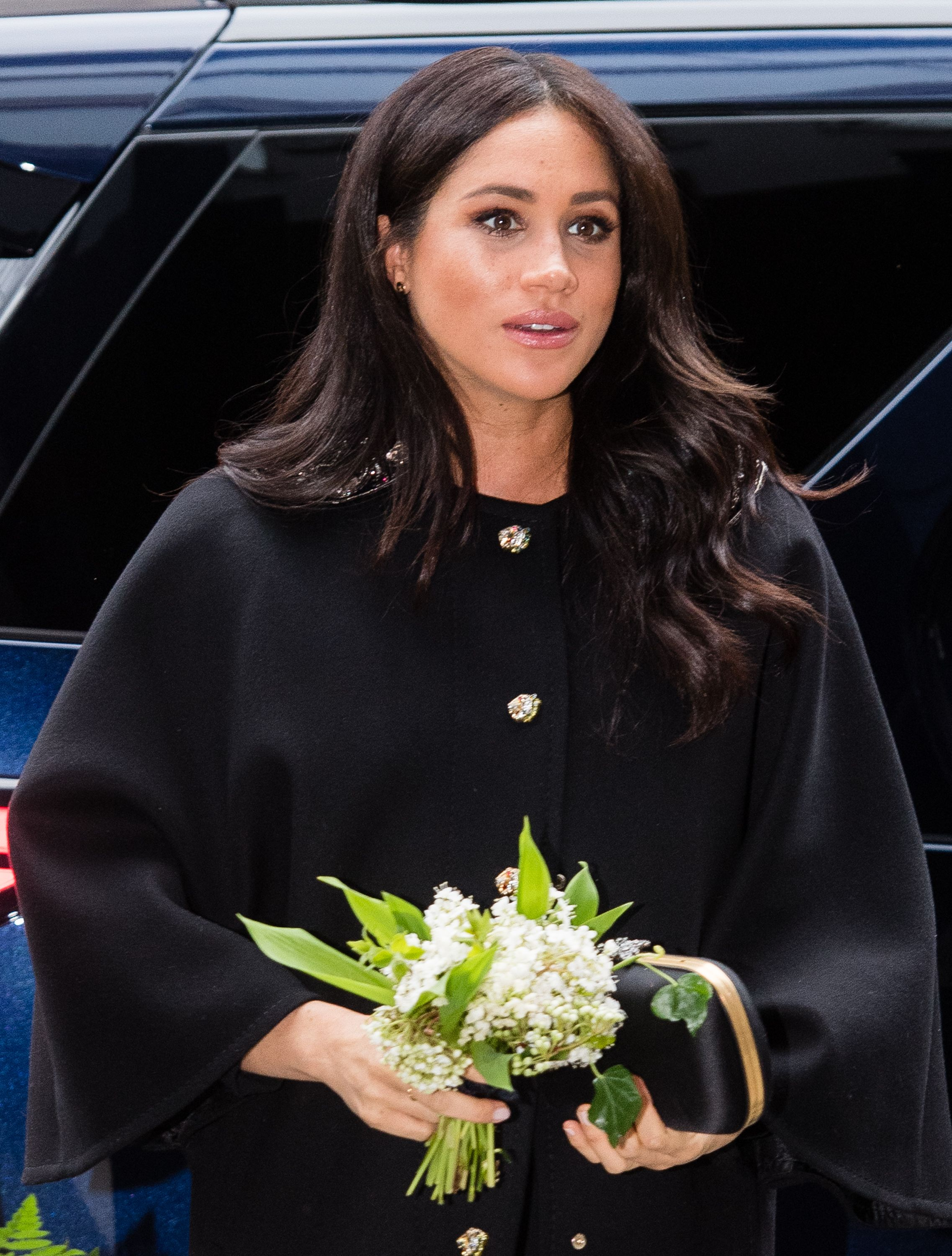 9a93669a88744 Best Meghan Markle Pregnant Style Looks - Princess Meghan Maternity Fashion