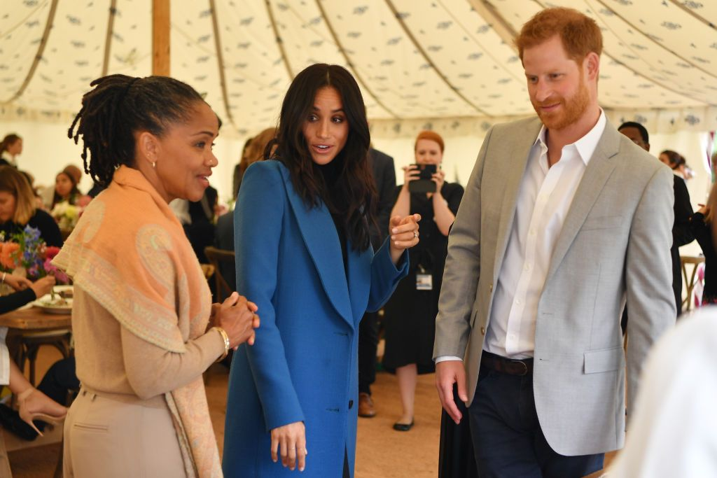 How the Royal Family Feels About Meghan Markle Spending Thanksgiving With Her Mom